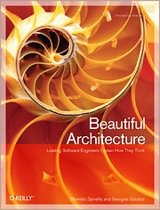O'Reilly Beautiful Architecture 432pagina's softwareboek & -handleiding