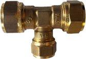 VSH knelkoppeling - T-stuk - 12 x 15 x 12 mm - 1 st