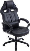 Clp DIESEL - Gaming bureaustoel - kunstleer - Zwart/zwart