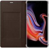 Samsung lederen wallet - bruin - voor Samsung N960 Galaxy Note 9