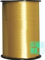Krullint Goud 015 - 5mm breedte – 500 mtr lengte - 2000 005 15-5mm