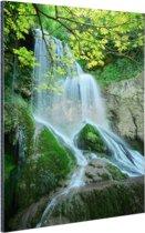 Krushuna waterval Oost-Europa Aluminium 120x180 cm - Foto print op Aluminium (metaal wanddecoratie) XXL / Groot formaat!