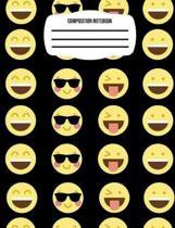 Mood Emoji Composition Notebook