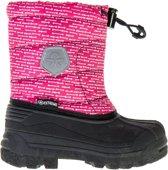 Color Kids Dylano Snowboots Kids  Snowboots - Maat 33--CONVERTMeisjesKinderen - roze/wit/zwart