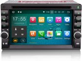 2 DIN Android autoradio met navigatie Wifi en Bluetooth