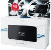 Vinove Autoparfum Paris - Auto luchtverfrisser - Luchtrooster bevestiging