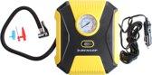 Dunlop Luchtcompressor 12v 10 Bar Geel/zwart