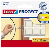 Tesa - 57899 - Protect Beschermblokjes - Wit - 10 x 10 mm