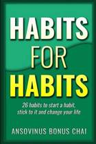 Habits for Habits