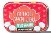 Paperdreams - Retro mints - Ik hou van jou