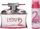 Sex in the City Love 2-delig Geschenkset met Deodorant en Parfum – 15x12x4cm | Geuren Cadeauset voor Vrouwen | Giftbag met Luchtje en Deo