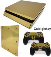 Gold Glossy - PS4 Slim skin