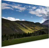 Landschap in het Nationaal park Arthur's Pass in Nieuw-Zeeland Plexiglas 30x20 cm - klein - Foto print op Glas (Plexiglas wanddecoratie)
