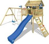 WICKEY Smart Plaza Blauw - Speeltoestel met schommel