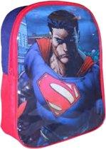 Rugzak van Superman,close-up