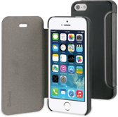 Muvit Folio case  - zwart - Apple iPhone 5;Apple iPhone 5S;Apple iPhone SE