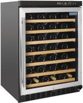 Polar tafelmodel wijnkoeling met RVS deur 54 flessen