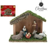 Kerststal set Christmas Planet 4417 (6 pcs)