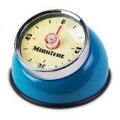 Vannons - Kookwekker Analoog - Kookwekker Magneet - Magnetisch - 60 minuten - Keukenwekker Retro - Turquoise