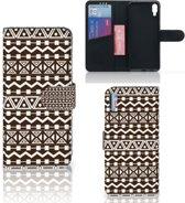 Sony Xperia L3 Telefoon Hoesje Aztec Bruin