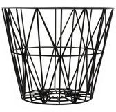 Ferm Living Wire Basket opbergmand zwart medium