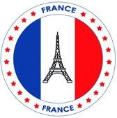 Bierviltjes Frankrijk thema print