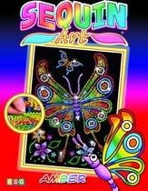 Sequin Art Pailletten Junior Kunstwerk set Vlinder