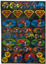 Kamparo Stickervel Superman 21 X 30 Cm