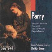 Parry: Symphonic Variations, Concertstuck etc / Bamert, LPO
