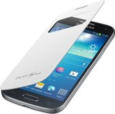 Samsung S-view cover - wit - voor Samsung I9195 Galaxy S4 Mini