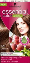 Schwarzkopf Essential Color Haarverf - 225 Chestnut