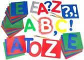 Sjabloonset Alfabet A - Z 27-delig