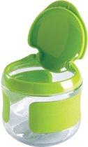 OXO tot Klein Flip-Top Snackdoosje Green