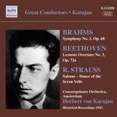 Karajan: Brahms Beethoven Strauss