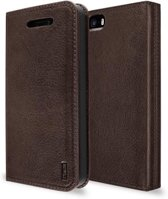 ARTWIZZ Leather wallet iPhone 5/s/SE Brown