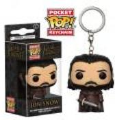 Funko Pop! Pocket Keychains : Game Of Thrones Jon Snow Version 2 - Verzamelfiguur