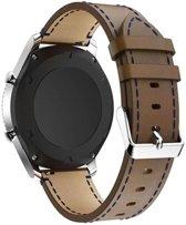 Just in Case Samsung Gear S3 Classic / S3 Frontier Lederen armband - Bruin