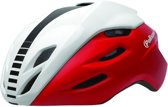 Helm Polisport Aero Road mat rood/glans wit/zwart L 58-61cm