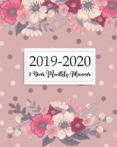 2019-2020 2 Year Monthly Planner