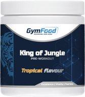 GymFood Pre-Workout met Creatine - Krachtige Supplement - Energie & Uithoudingsvermogen - 300 gram - 30 doseringen -Tropical