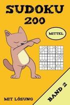 Sudoku 200 Mittel Mit L sung Band 2