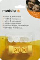 Medela - vacuumset - 2 klephuizen - 6 membranen