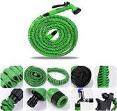 Flexibele elastische Tuinslang Magic Hose 15 meter inclusief accessoires