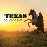 Texas Calendar 2020: 16 Month Calendar