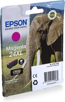 24XL inktcartridge magenta high capacity 8.7ml 740 pagina's 1-pack blister zonder alarm