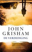 Boek cover De verdediging van John Grisham