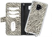 Mobilize 2in1 Gelly Wallet Zipper Case Samsung Galaxy S9 Black/Zebra
