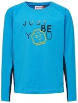 Lego wear Jongens T-shirt Tiger - Blauw - Maat 116