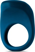 MOQQA Tide Virbrerende Cockring - Donker Blauw - 3 cm
