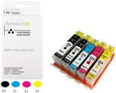 Improducts® Inkt cartridges - Alternatief Hp 364 X